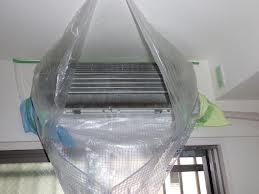 壁掛けエアコンの洗浄